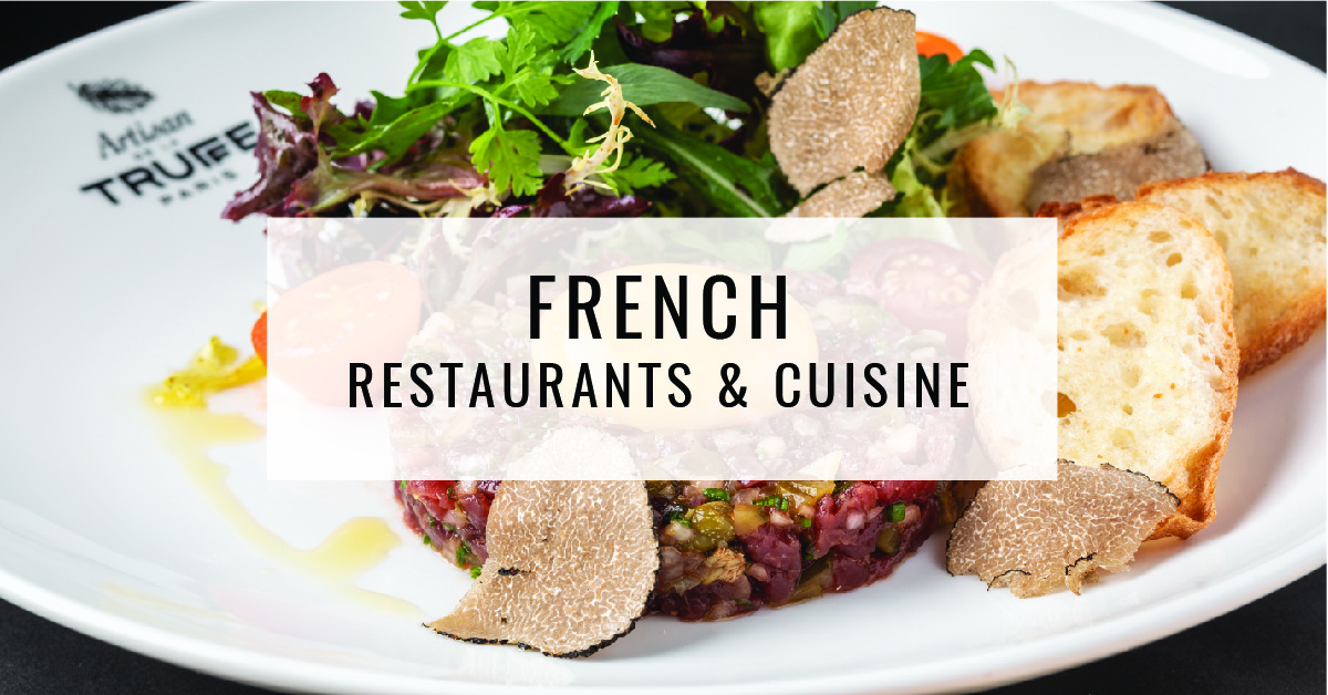 French Restaurants & Cuisine Title Card | Food For Thought