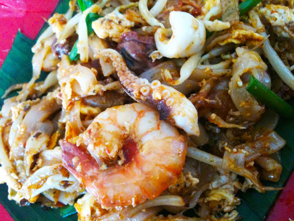 Char Kuay Teow with Squid