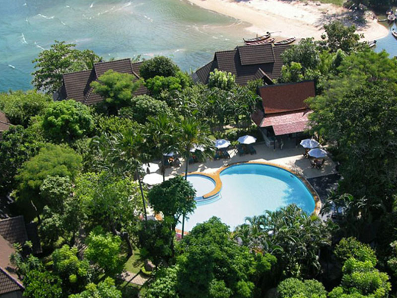 Aerial | Kamala Beach Estate Hotel | Food For Thought