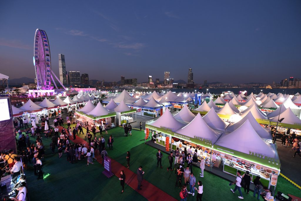 Aerial Shot   Hong Kong Wine and Dine Festival 2018   HKTB   Food For Thought