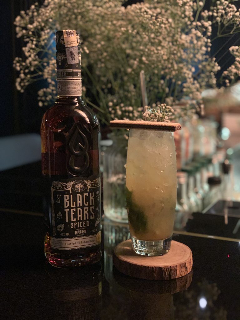 Aji Dulce Cocktail | Cuba's Only Spiced Rum - Din Hassan of Black Tears Cuban Spiced Rum | Food For Thought