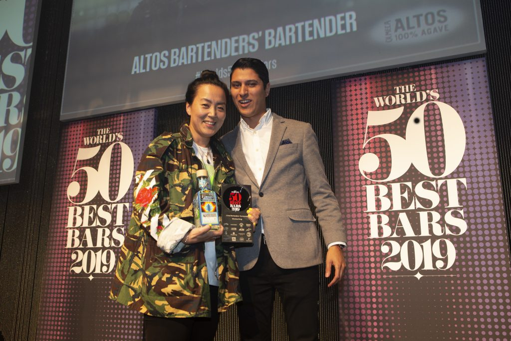 Altos Bartender's Bartender Award | The World's Best Bars 2019 | Food For Thought