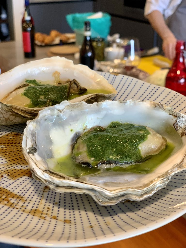 American Oysters | A Casual Lunch with Darren Chin | Food For Thought