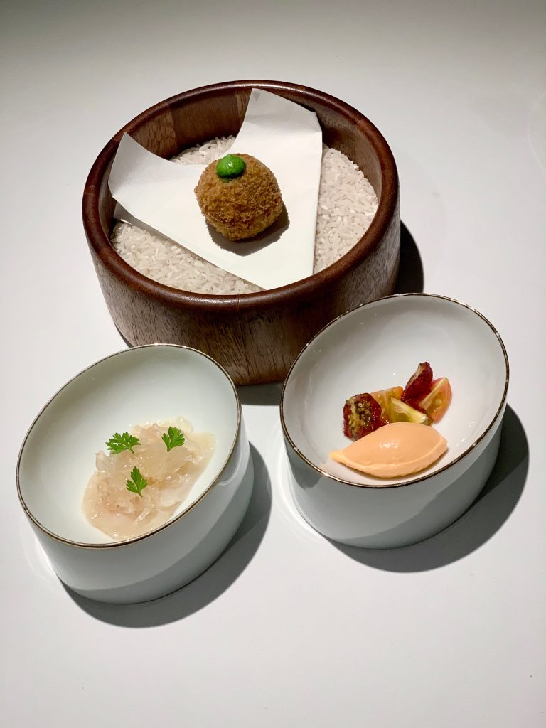 Amuse Bouche | DC Seasonal May 2020 Menu | DC Restaurant | Food For Thought