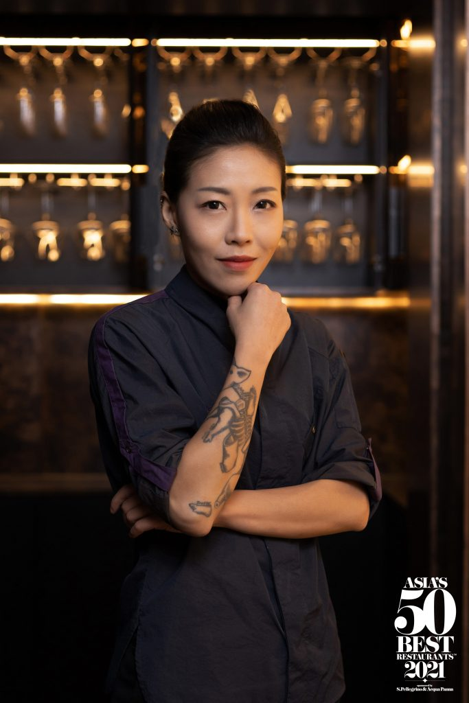 Asia's Best Female Chef - DeAille Tam (Hi-res) | Asia's Best Restaurant 2021 Best Female Chef DeAille Tam of Obscura | Food For Thought