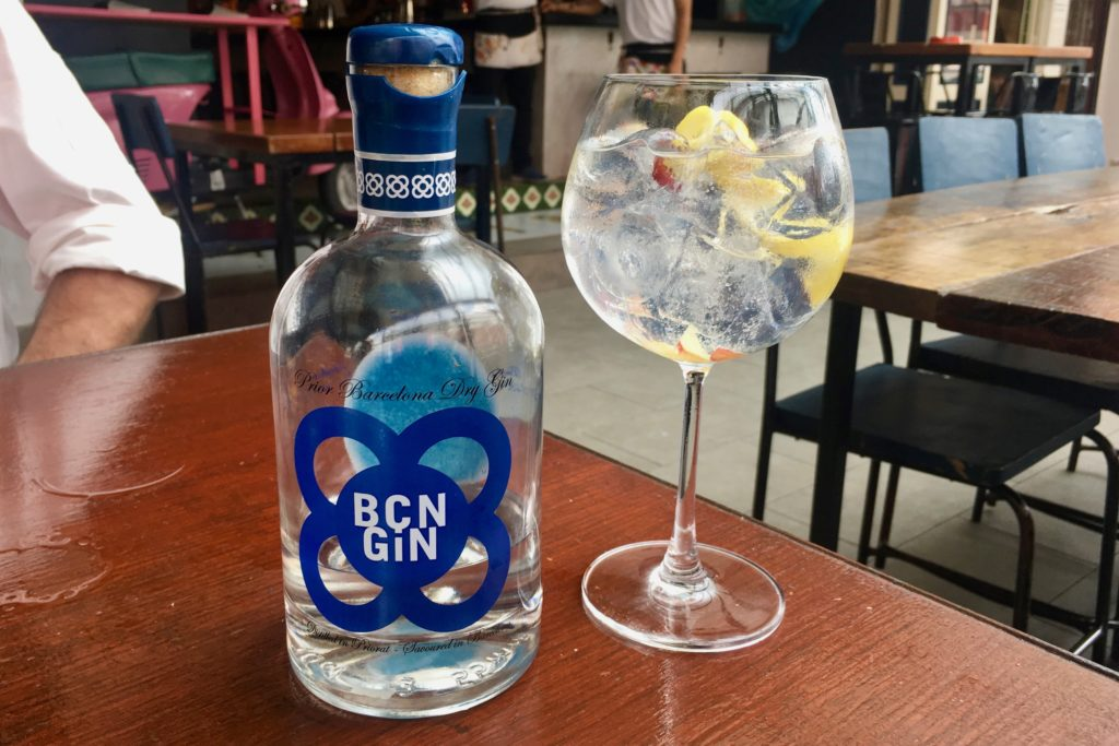 BCN Gin | Mercat Barcelona Gastrobar | Food For Thought