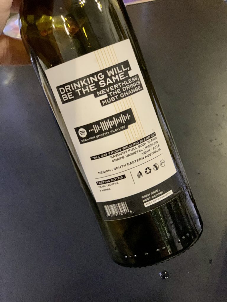 Bad Monte Meatology Bespoke Wine | Meatology | Food For Thought