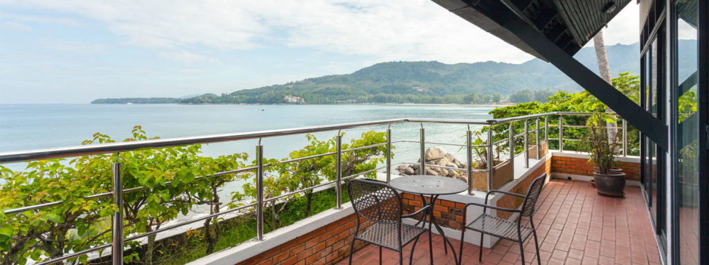 Balcony | 1 Bedroom Apartment | Kamala Beach Estate Hotel | Food For Thought