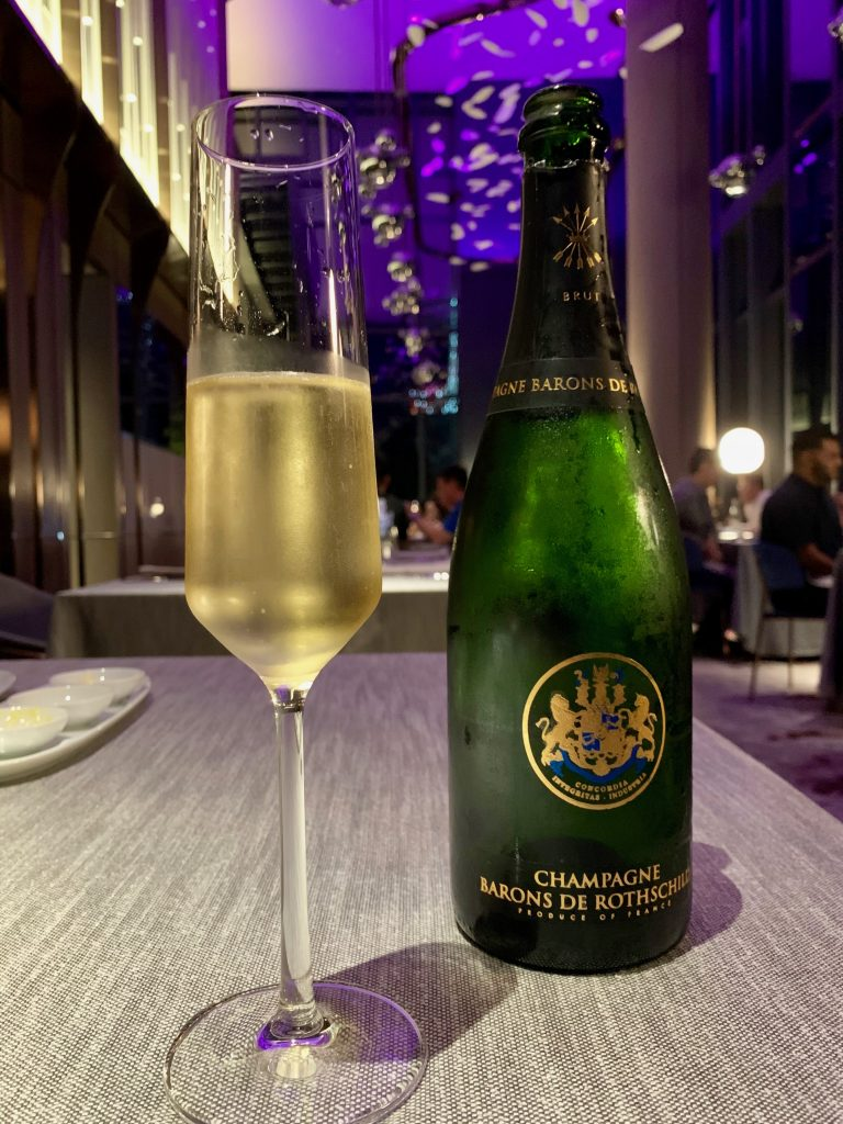 Baron de Rothschilde Brut, Champagne | Sabayon by EQ | Food For Thought