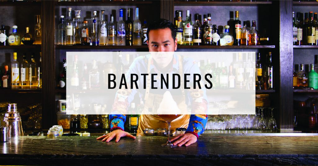Bartenders Title Card | Food For Thought