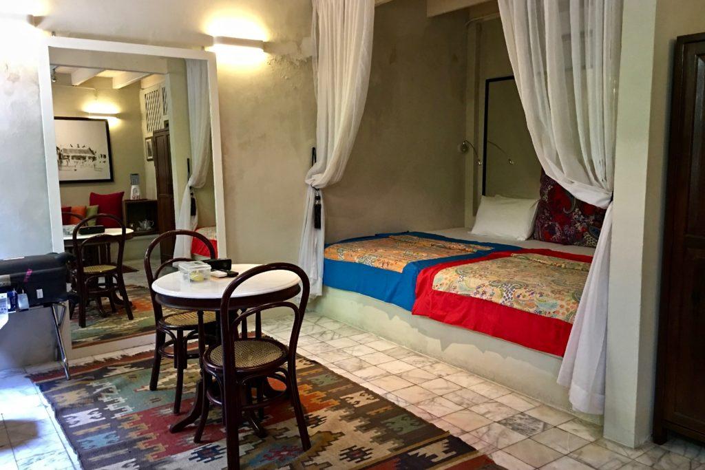 Bed | Mews Standard Room | Muntri Mews | Muntri Residence | Food For Thought