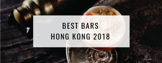 Best Bars In Hong Kong 2018