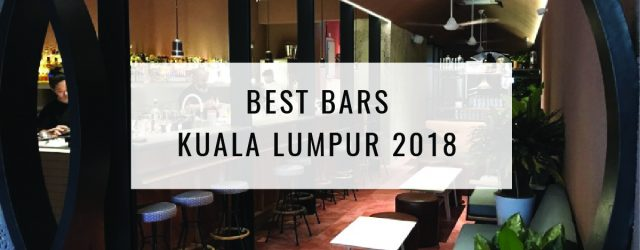 Best Bars KL 2018