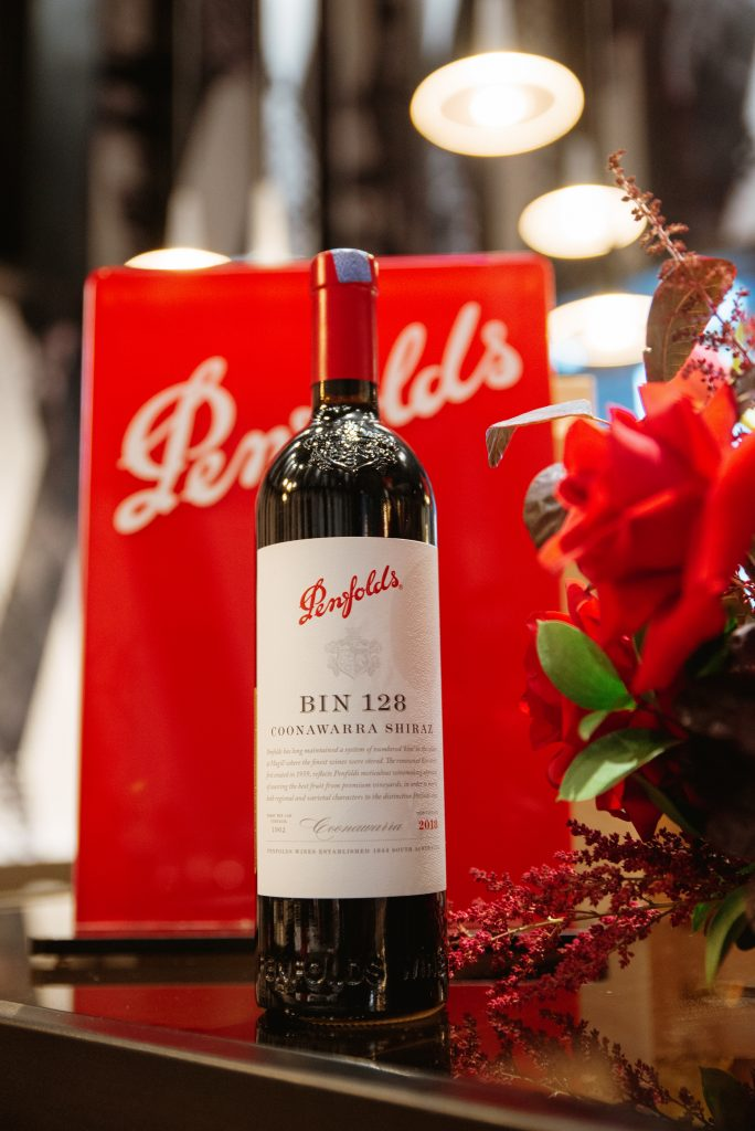Bin 128 Coonawarra Shiraz 2018   Penfold 2020 Release   Food For Thought