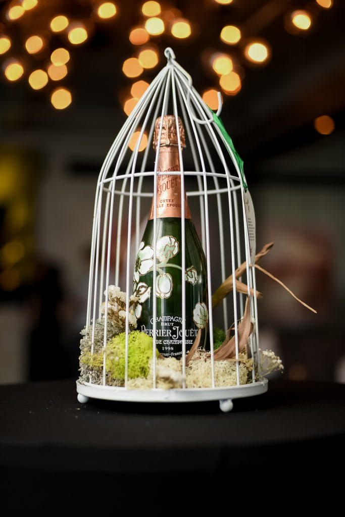 Birdcage | Perrier-Jouët Blason Rosé | Perrier-Jouët Champagnes | Food For Thought