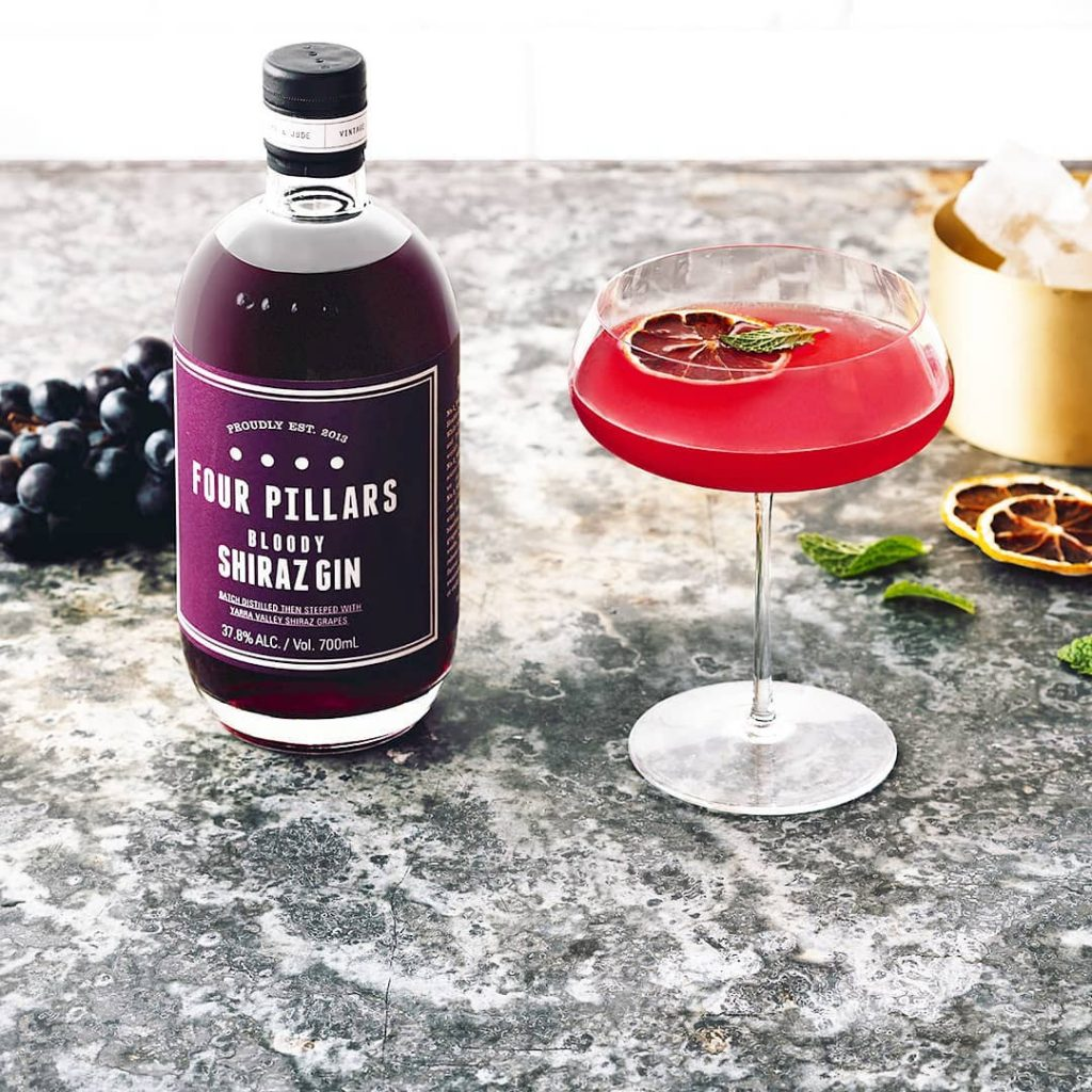 Bloody Jasmine Cocktail | Four Pillars Gin