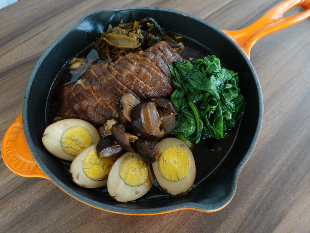 Braised Pork Leg Rice | Meat & Sea KL | Food For Thought