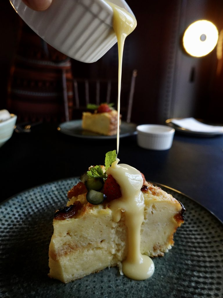 Bread & Butter Pudding | PRIVATE @ The Chow Kit x Mizukami Cocktails | Food For Thought