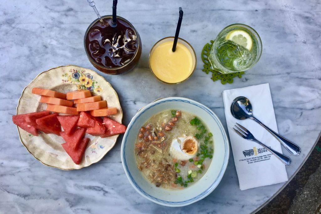 Bubur Lambuk | Mews Cafe | Muntri Mews | Muntri Residence | Food For Thought