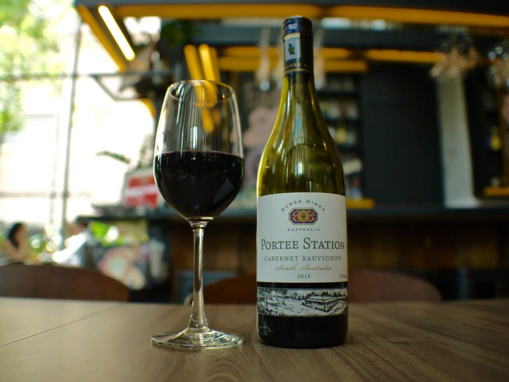 Cabernet Sauvignon, Portee Station, South Australia 2014| Skillet at 163 | Food For Thought