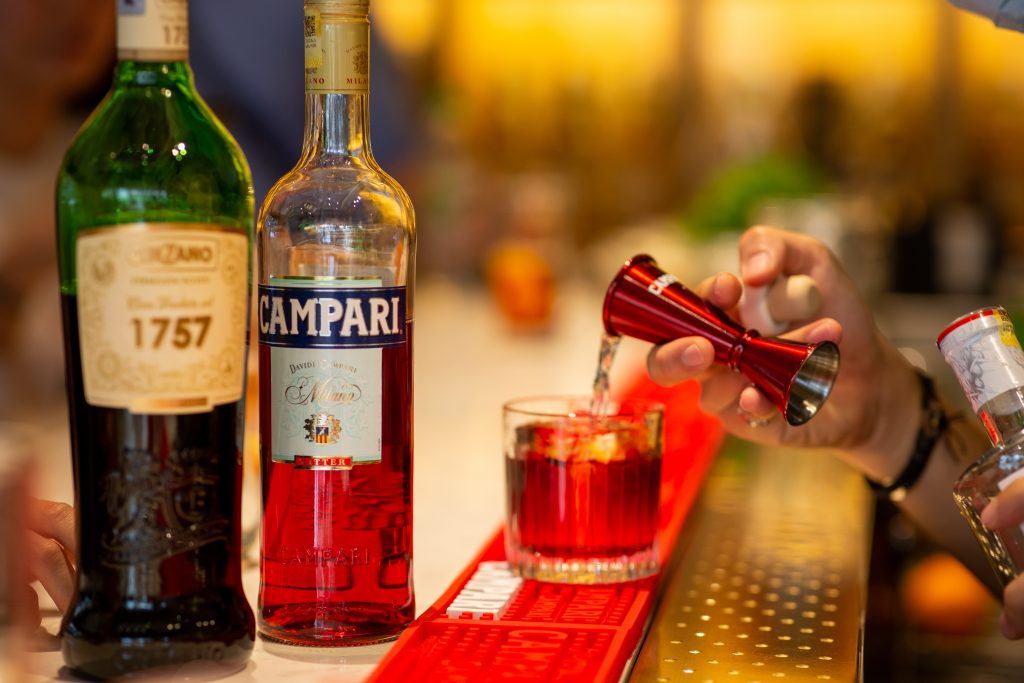 Campari Pour | Negroni Week 2020 | Food For Thought