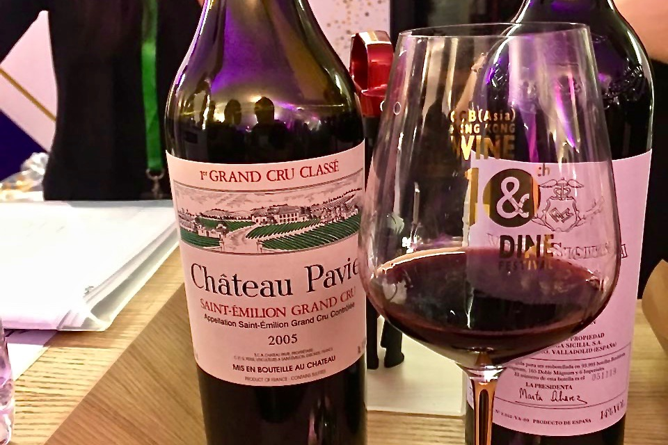 Chateau Pavie | Hong Kong Wine and Dine Festival 2018 | HKTB | Food For Thought