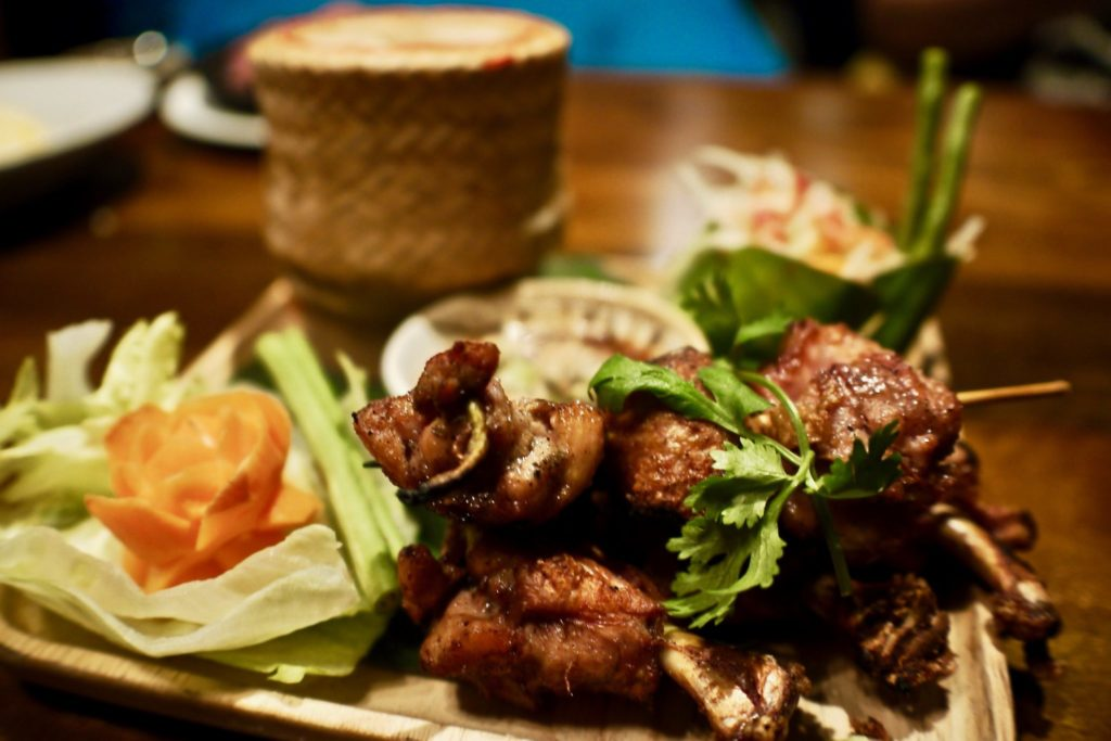 Chiangmai Grilled Chicken Wings | Ekkamai | Food For Thought
