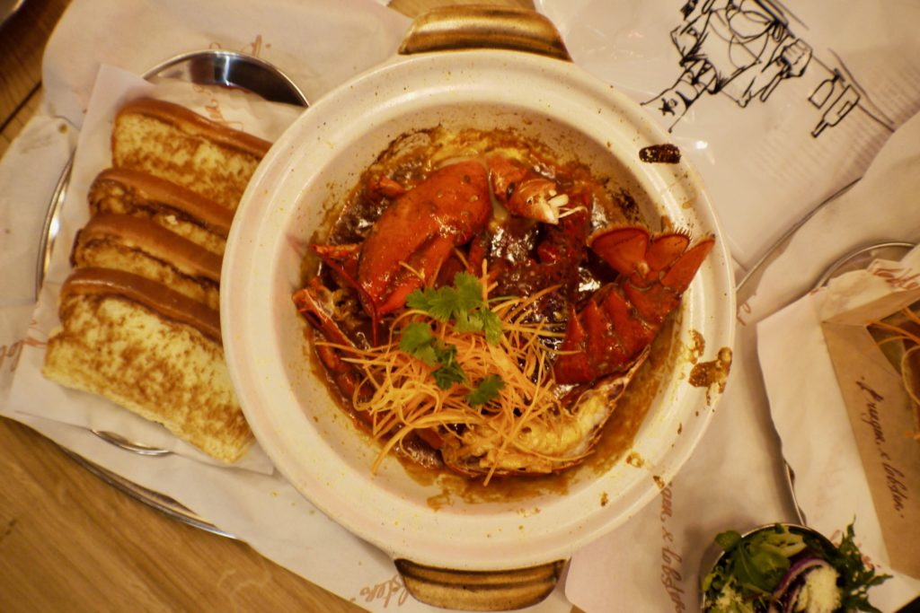 Chilli Lobster | Things to do in Genting Highlands | Food For Thought