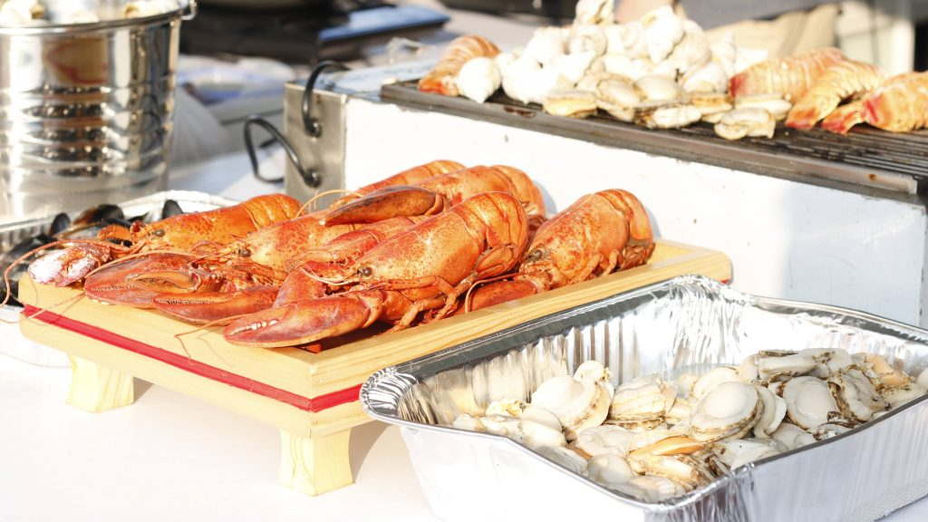 Cold Seafood | Hong Kong Wine and Dine Festival 2018 | HKTB | Food For Thought