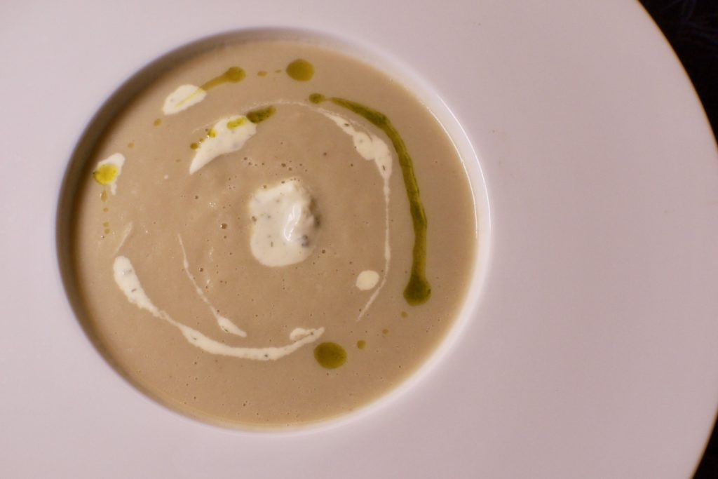 Crème of Jerusalem Artichoke | Samplings on the 14th | Food For Thought