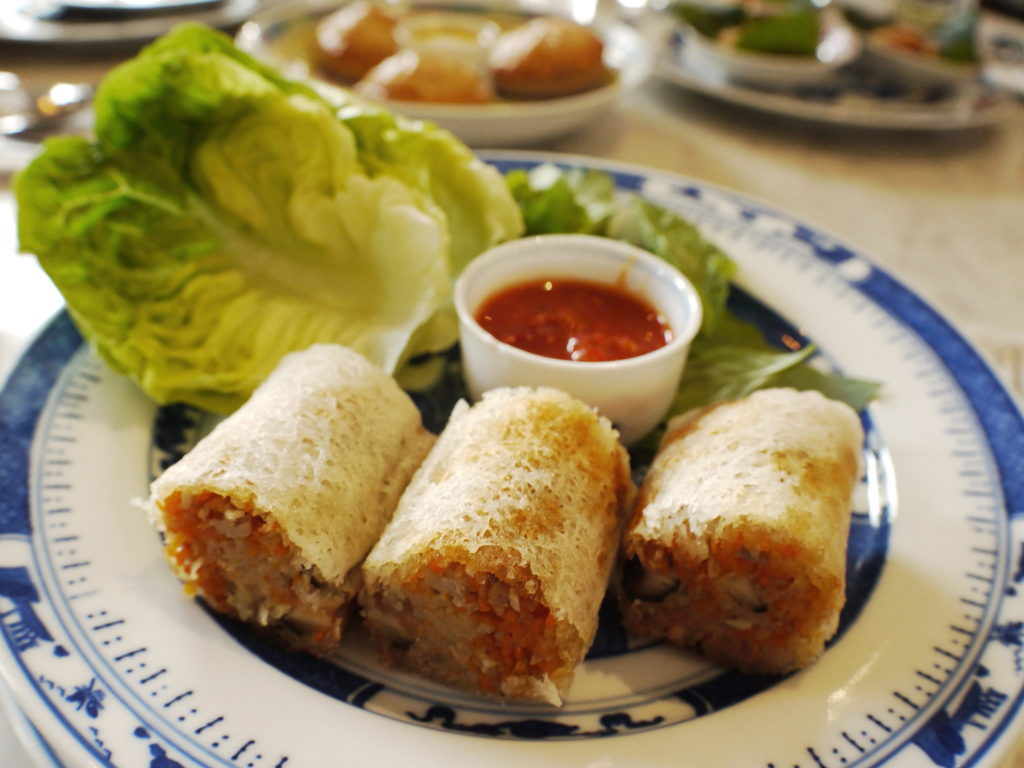 Crispy Joo Hoo Char Roll - Kebaya House - Food For Thought
