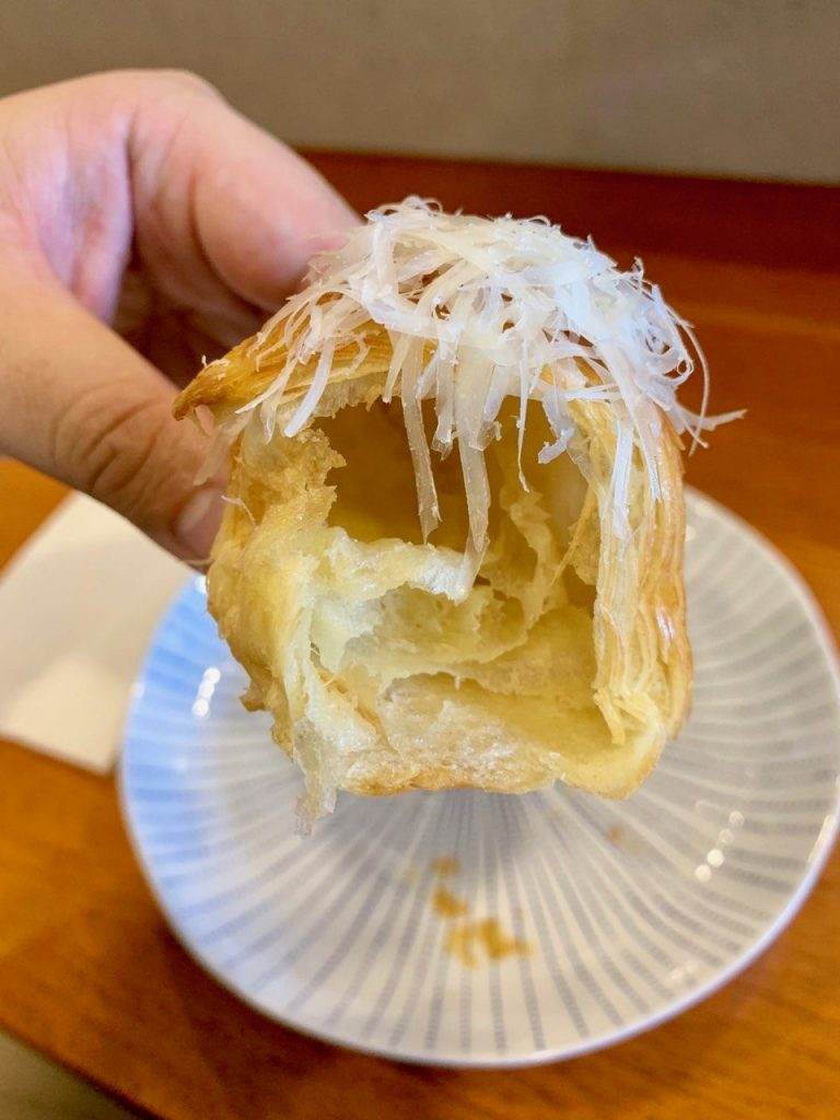 Croissant Cross Section | A Casual Lunch with Darren Chin | Food For Thought