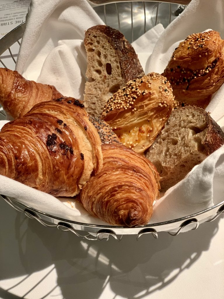 DC Signature Bread Course | DC Restaurant Dom Perignon Pairing | Food For Thought