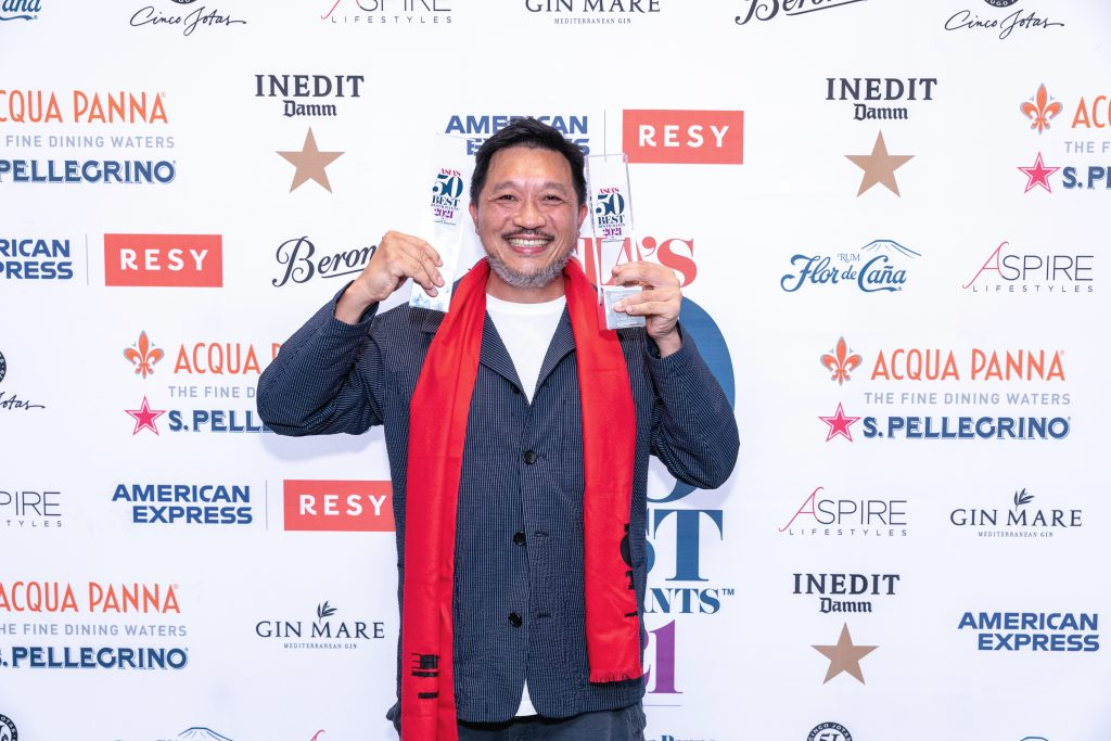 Danny Yip | The Chairman | | Asia's 50 Best Restaurants 2021 | Food For Thought