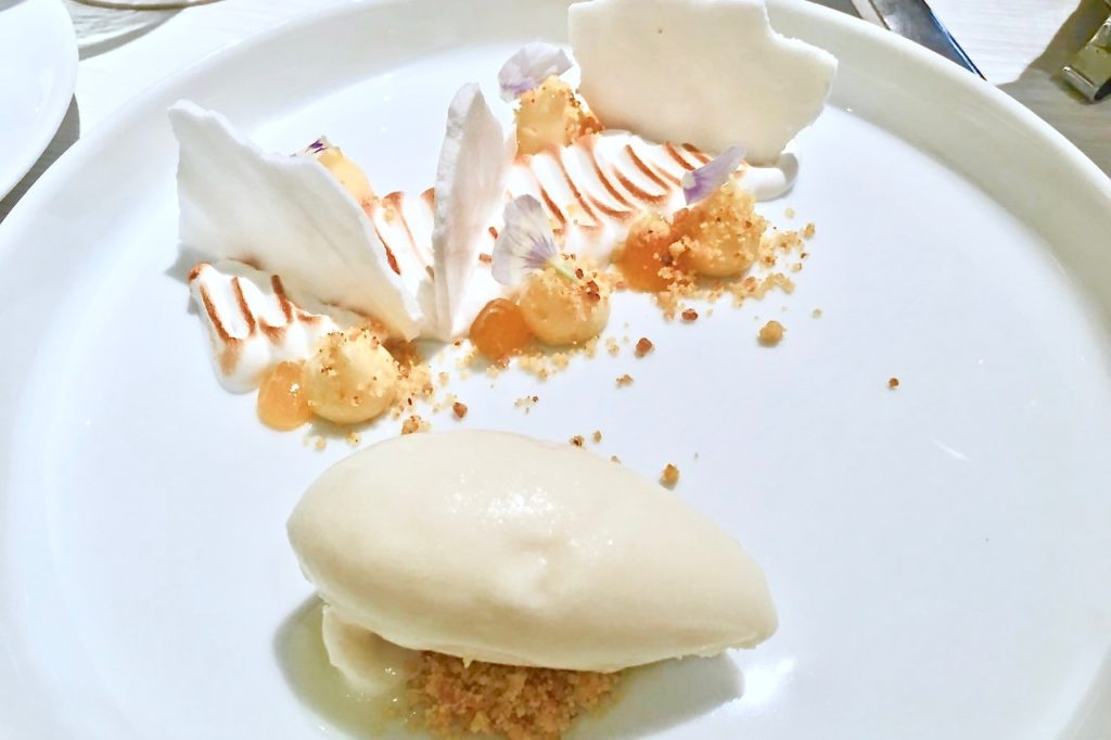 Deconstructed Lemon Meringue Pie | Marco Creative Cuisine | Food For Thought