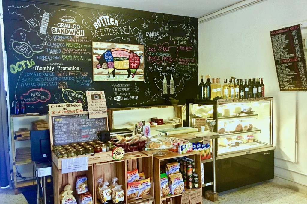 Deli Counter | Bottega Medditerreana | Food For Thought