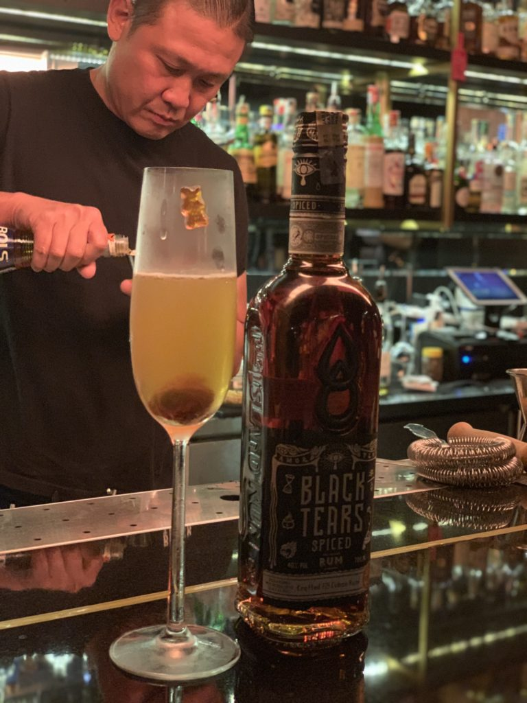 Din Hassan | Cuba's Only Spiced Rum - Din Hassan of Black Tears Cuban Spiced Rum | Food For Thought