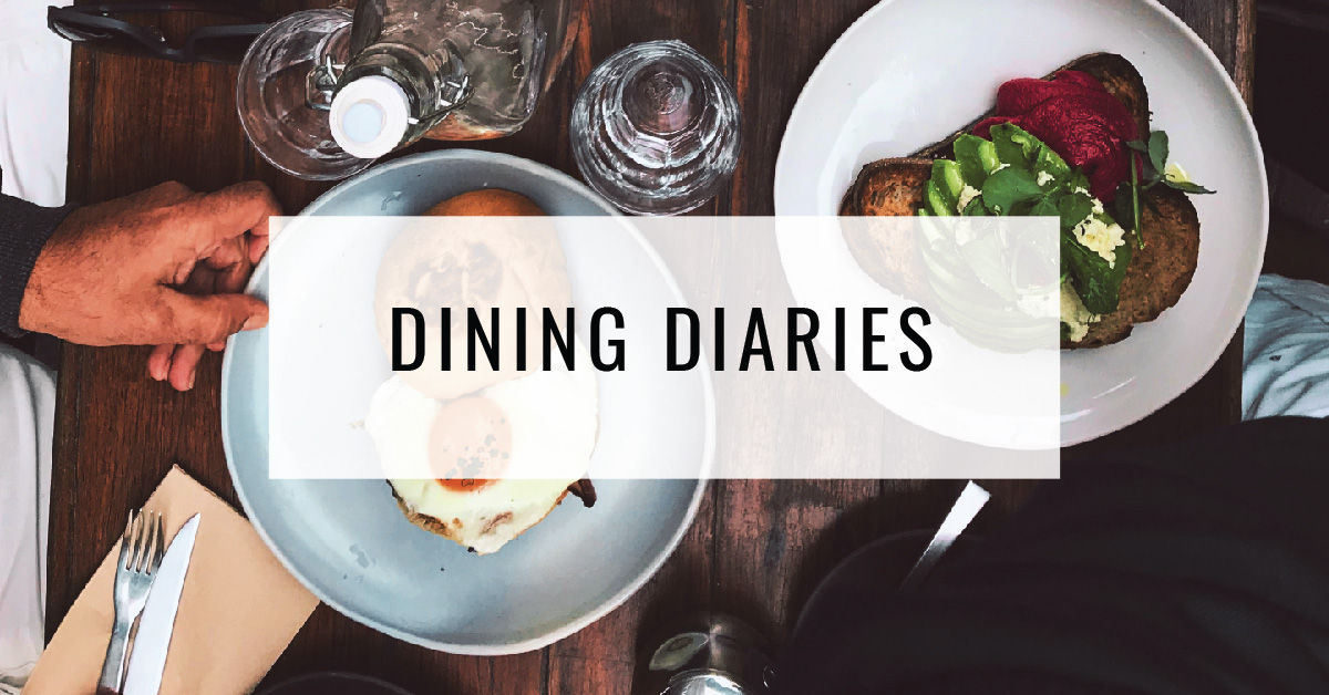 Dining Diaries Title Card