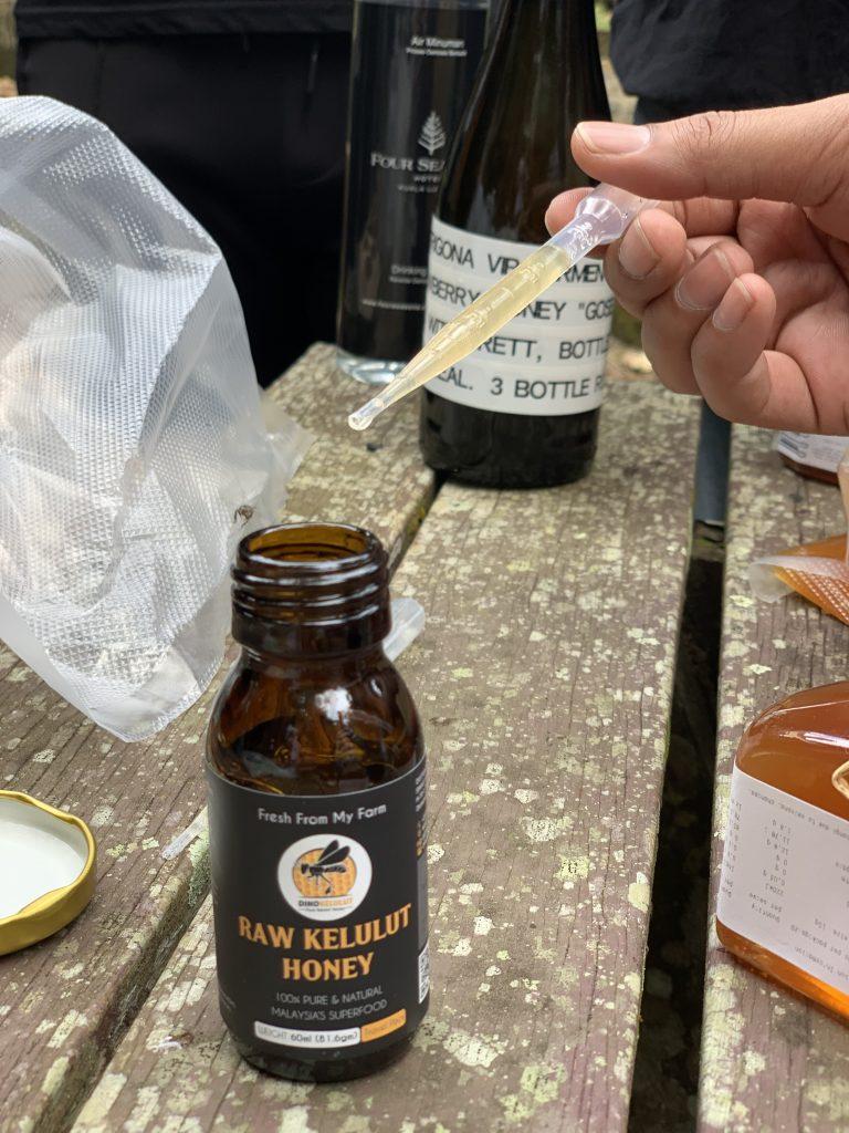 Dino Kelulut Honey | Ketel One Sustainable Bar Award 2020 | Bar Trigona | Food For Thought