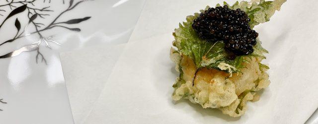 Diver Scallop Tempura Landscape | Franco-Chinois Menu | DC Restaurant