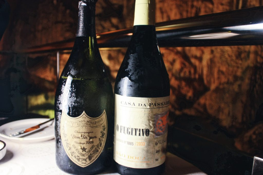 Dom Perignon Legacy Vintace 2008 | Casa da Passarella O Fugitivo Blanco En Curtimenta (Portugal) 2015 | DC Restaurant x Jeff's Cellar x Être | Food For Thought
