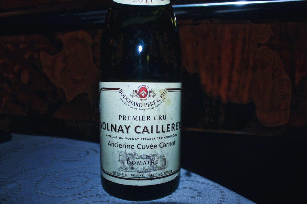 "Domaine Bouchard Pére & Fils Volnay 1 er Cru ""Les Caillerets – Ancienne Cuvee Carnot"" 2011   DC Restaurant x Jeff's Cellar x Être   Food For Thought"