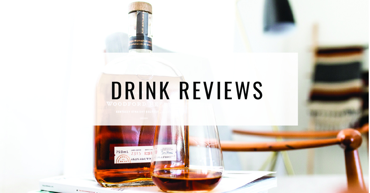 Drink Reviews Title Card | Food For Thought