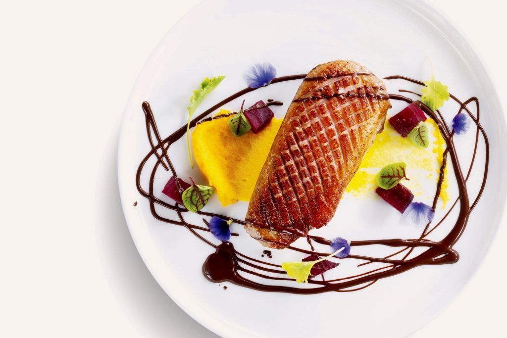Duck Breast with Orange PureeMarco Creative Cuisine | Food For Thought