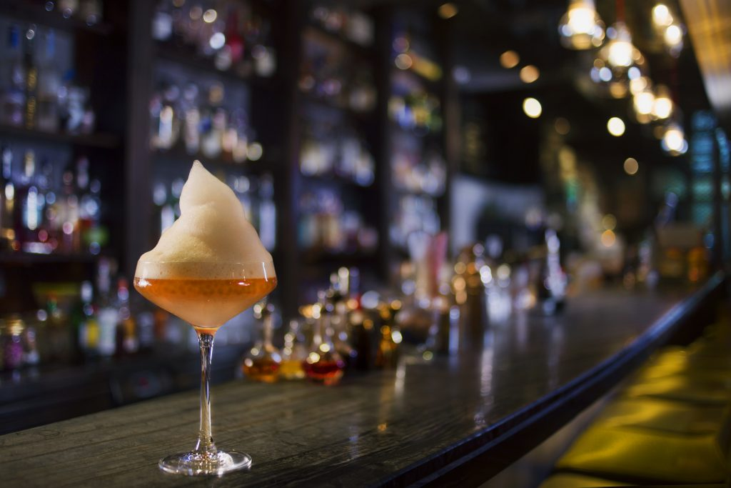 Earl Grey Caviar Martini | Quinary Hong Kong | Food For Thought