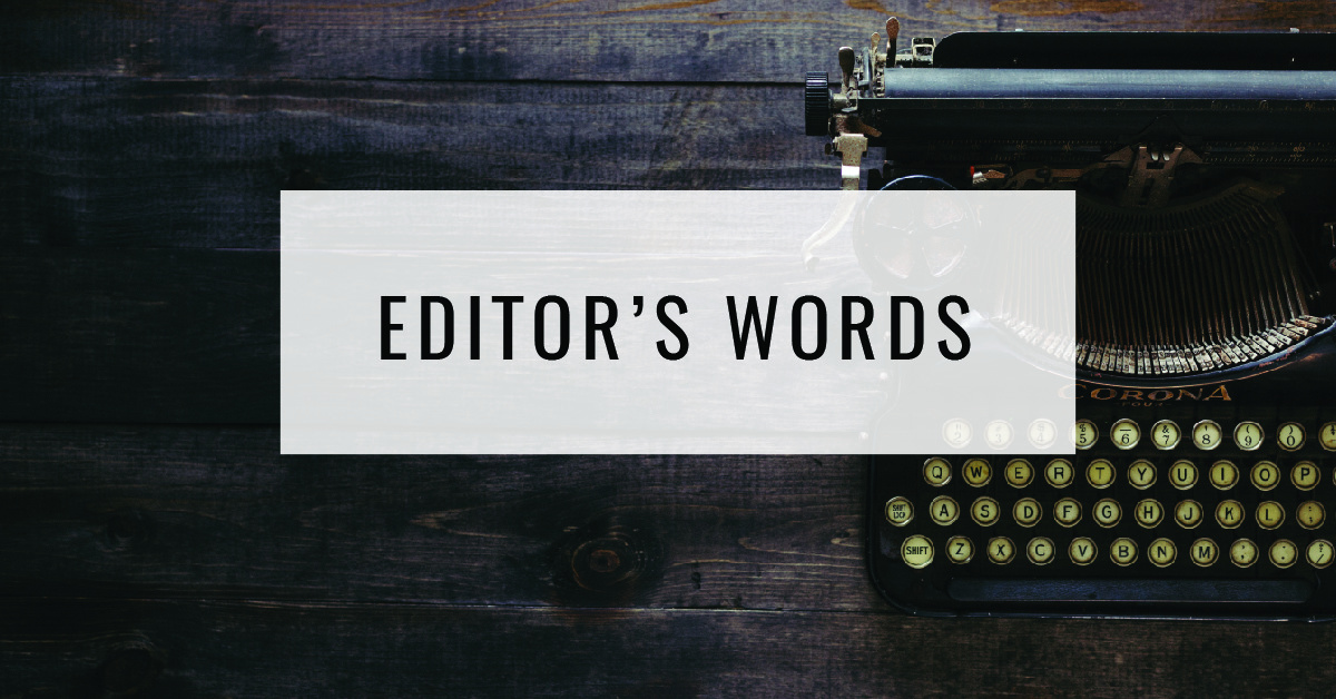 Editor's Words Title Card | Food For Thought