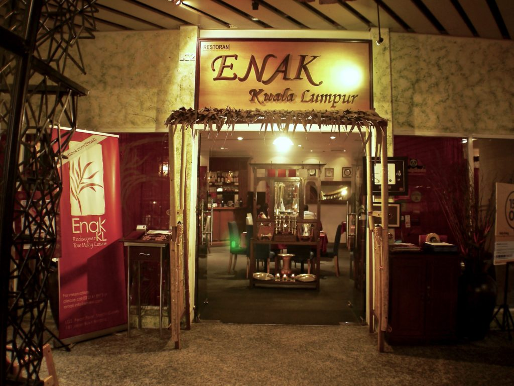 Enak Exterior | Enak KL | Food For Thought