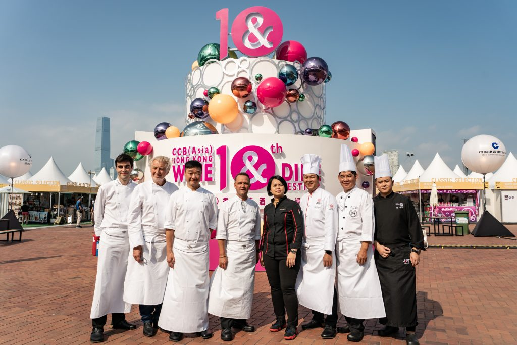 Chefs | Hong Kong Wine and Dine Festival 2018 | HKTB | Food For Thought