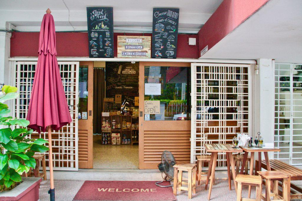 Exterior | Bottega Medditerreana | Food For Thought
