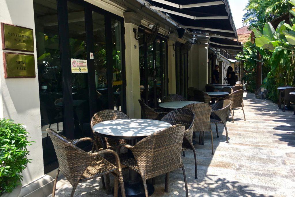 Exterior | Mews Cafe | Muntri Mews | Muntri Residence | Food For Thought